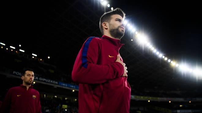 Gerard Pique wurde in La Masia, der Jugendakademie des FC Barcelona ausgebildet