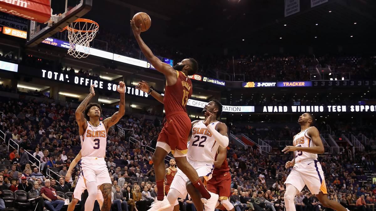 James Harden war auch von den Phoenix Suns nicht zu stoppen