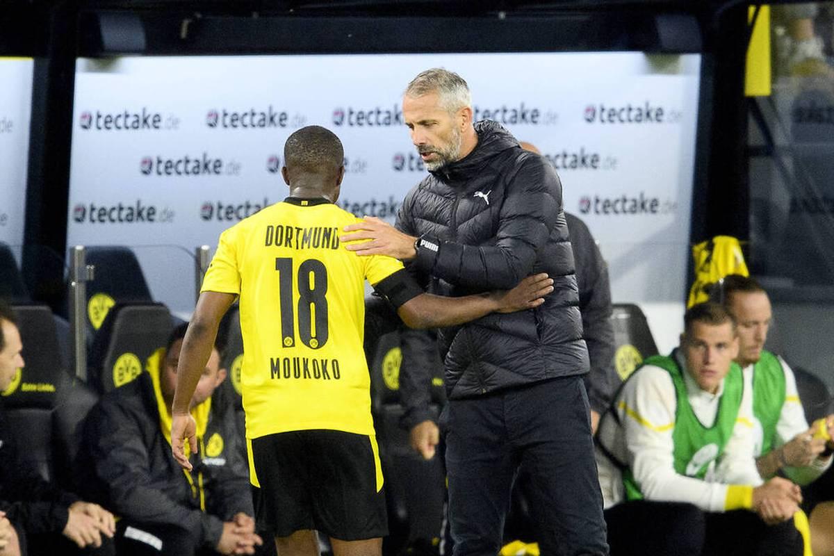 Der BVB bangt vor dem Champions-League-Duell mit Sporting Lissabon um Marco Reus und Erling Haaland. Was sagt Marco Rose? Die Pressekonferenz zum Nachlesen