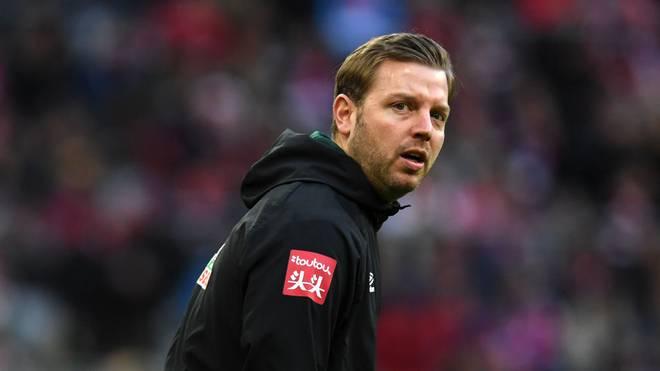 Florian Kohfeldt muss dem Trainingsplatz wohl noch länger fernbleiben