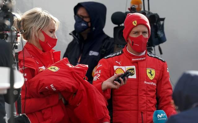 Sebastian Vettel konnte sich seine schlechte Platzierung nicht erklären