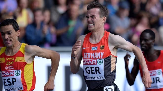 Arne Gabius kämpft mit seinem Körper und um das Ticket für Olympia