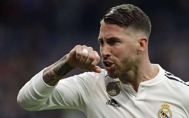 Sergio Ramos ist bei Real Madrids Sieg in Pilsen negativ aufgefallen