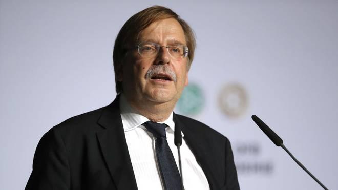 DFB-Vizepräsident Rainer Koch muss kein Verfahren der Ethikkommission des Deutschen Fußball-Bundes fürchten