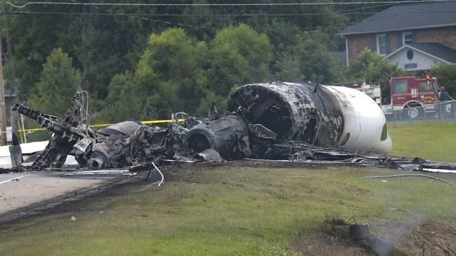 Alle Insassen des Flugzeugs überlebten