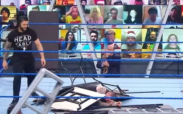 Kevin Owens wurde vor WWE TLC Opfer einer brutalen Attacke durch Roman Reigns