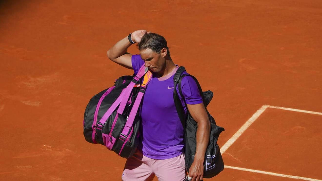Rafael Nadal hatte bei der Niederlage gegen Alexander Zverev nicht seinen besten Tag erwischt