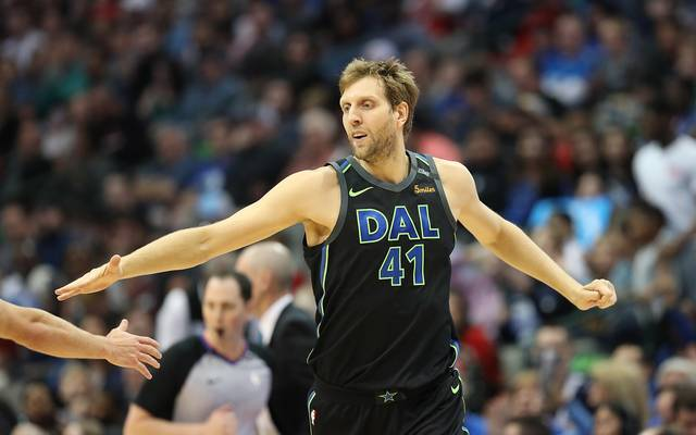 NBA: Dirk Nowitzki von den Dallas Mavericks