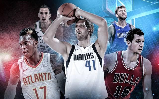 Fünf deutsche Korbjäger wollen in dieser Saison die NBA rocken