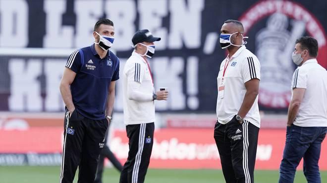 Die Masken des Hamburger SV sind zum Verkaufsschlager geworden