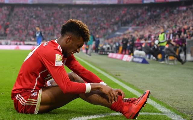 Kingsley Coman hat sich gegen Hertha BSC am Knöchel verletzt