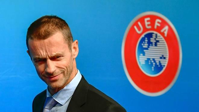Fußball: UEFA-Präsident Aleksander Ceferin will Mega-WM 2030 auf UEFA-Gebiet, UEFA-Präsident Aleksander Ceferin hat eigene Vorstellungen von der WM 2030
