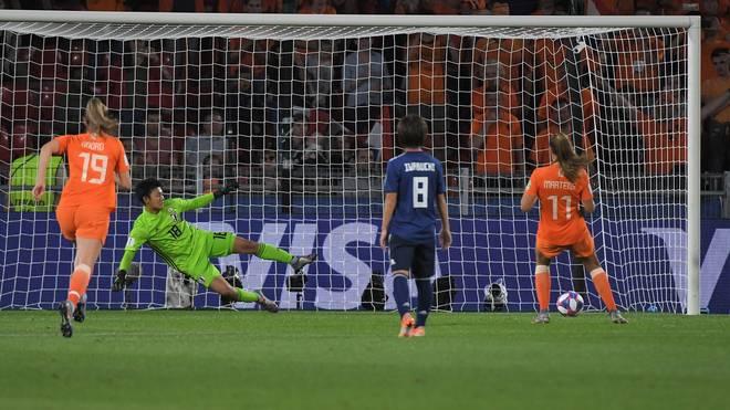 Ein umstrittener Elfmeter sorgte im Spiel zwischen den Niederlanden und Japan für die Entscheidung