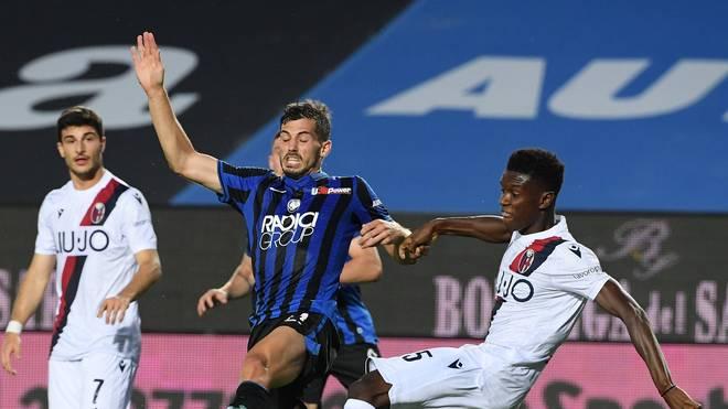 Atalanta Bergamo (blau) hat noch minimale Chancen auf die Meisterschaft