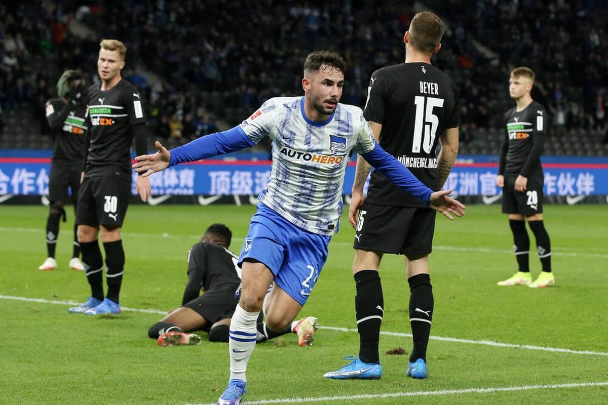 Nächster Erfolg für die Hauptstädter: Hertha BSC gestaltet auch sein Heimspiel gegen Borussia Mönchengladbach siegreich.