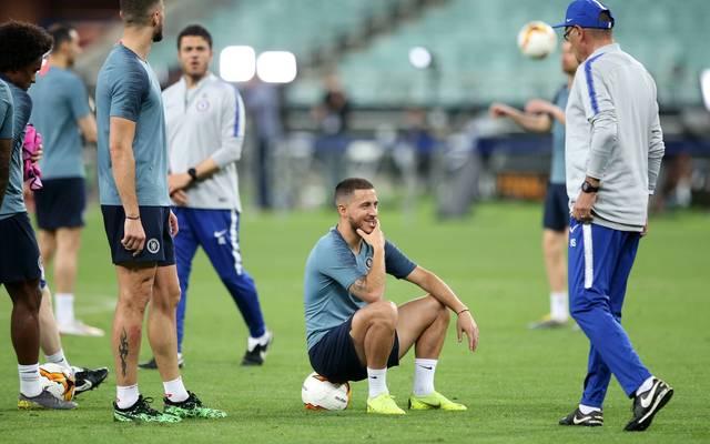 Eden Hazard ließ es im Training offenbar gerne mal etwas ruhiger angehen