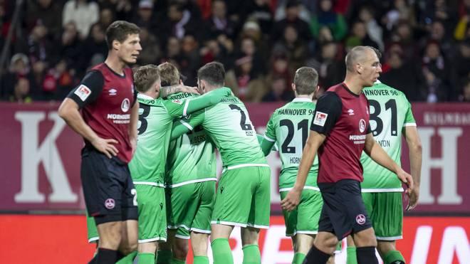 Hannover 96 setzte in Nürnberg ein Ausrufezeichen