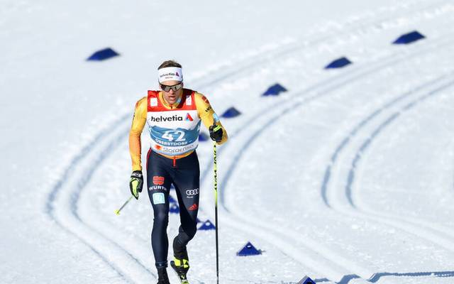 Sebastian Eisenlauer nahm am Sprint-Wettkampf teil