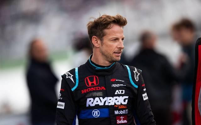 Jenson Button fuhr zuletzt in der japanischen Rennserie Super GT