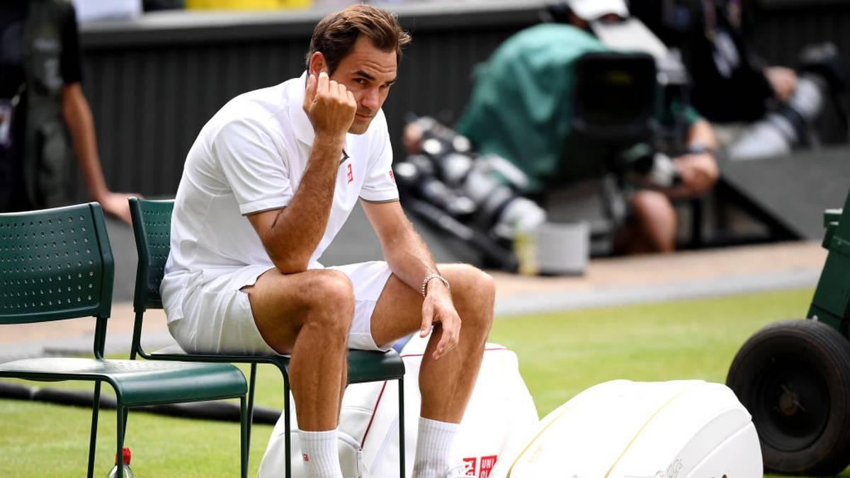 Roger Federer trifft die Wimbledon-Absage hart