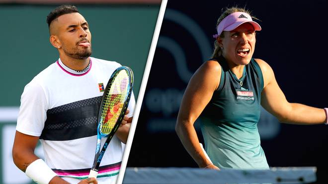 "Angelique Kerber nennt Andreescu in Miami ""Drama-Queen"" - Kyrgios stichelt"
