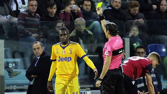 Blaise Matuidi gewann mit Juve gegen Cagliari