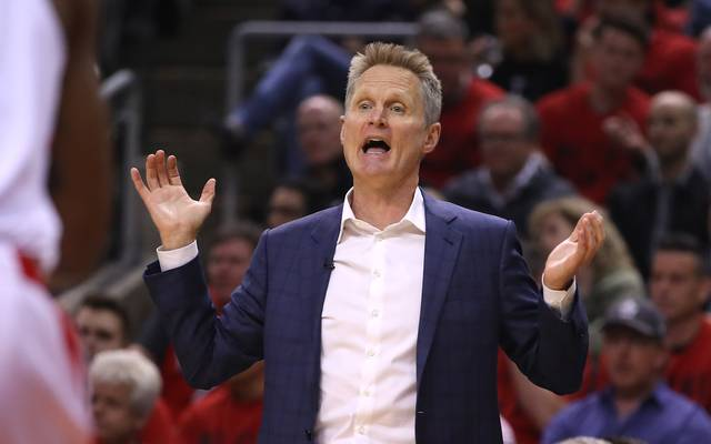 Steve Kerr ist Headcoach der Golden State Warriors