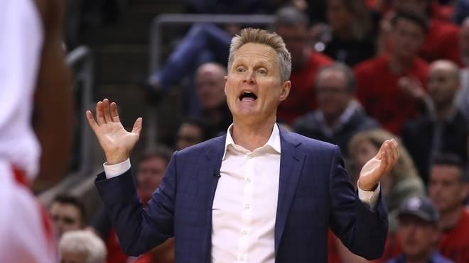 Steve Kerr ist Headcoach der Golden State Warriors