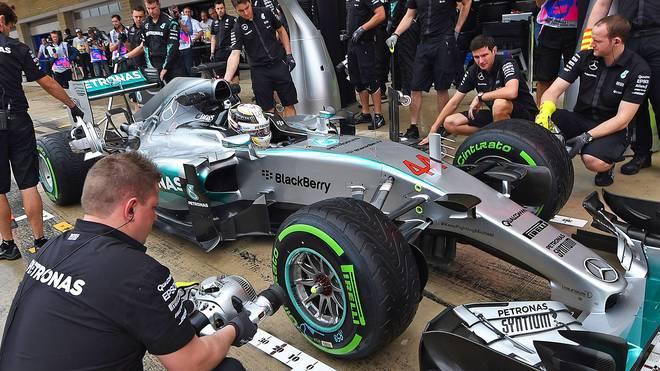 Lewis Hamilton könnte in der Doppelschicht von Austin vorzeitig zum Weltmeister 2015 werden