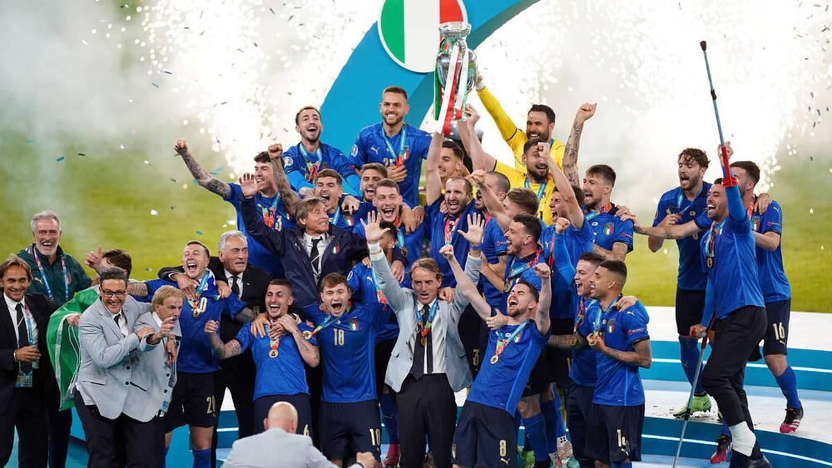 Italien holte zum zweiten Mal den EM-Titel