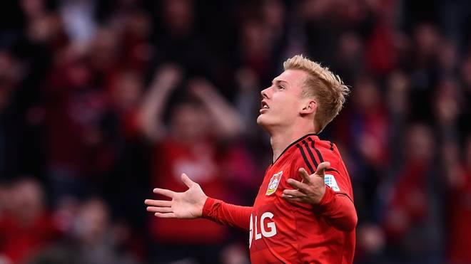 Leverkusens Julian Brandt heizt vor dem Derby gegen Köln die Stimmung an