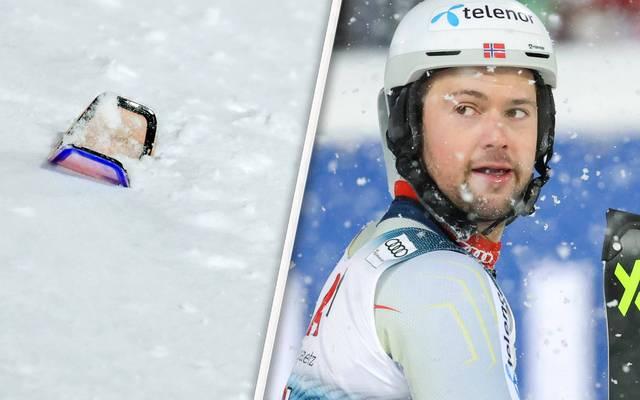 Sebastian Foss-Solevaag unterlief ein folgenschweres Malheur