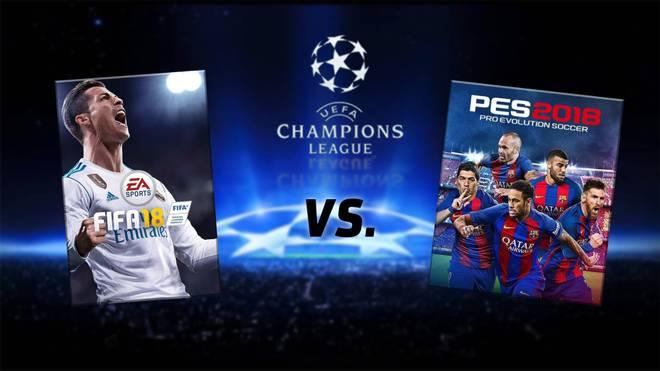 FIFA 18 im Duell mit PES