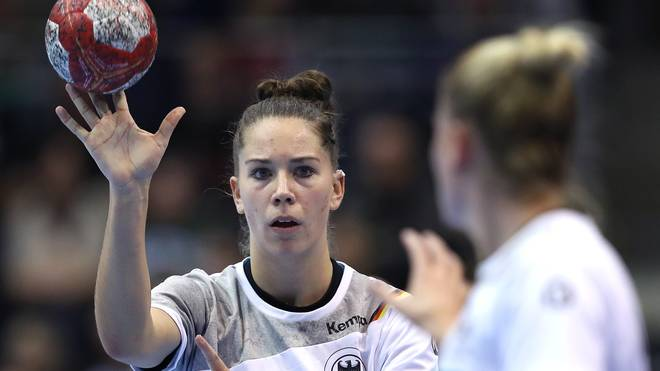 Emily Bölk hat mit de deutschen Mannschaft einen Sieg gegen Kroaten verpasst