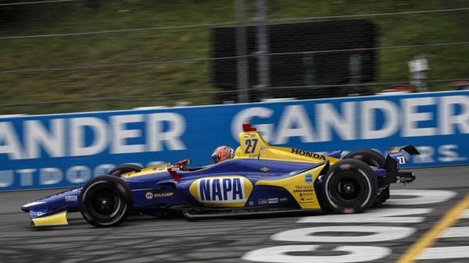 Dritter IndyCar-Saisonsieg 2018 für Alexander Rossi