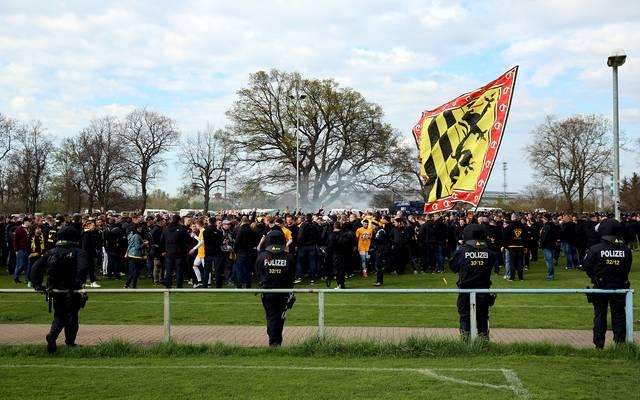 1. FC Magdeburg v Dynamo Dresden - 3. Liga