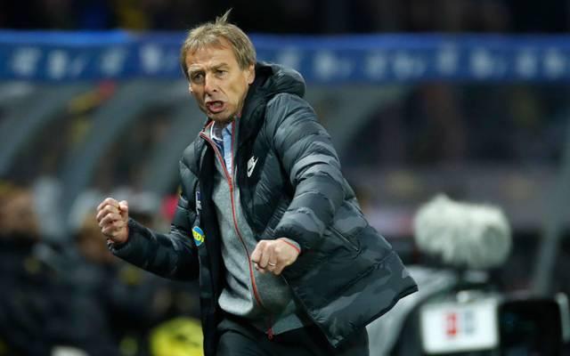 Jürgen Klinsmann verfolgt mit Hertha BSC große Ziele