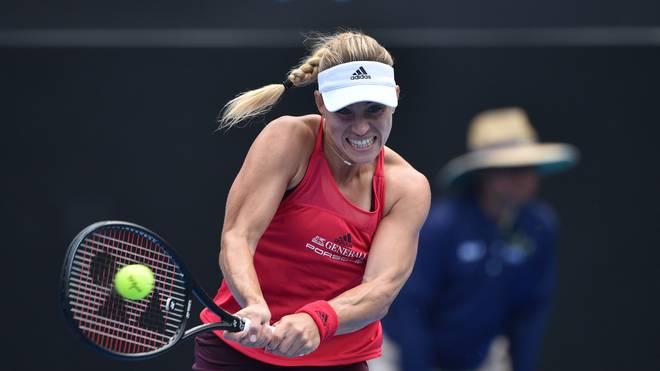Angelique Kerber schlägt bei den Australian Open auf