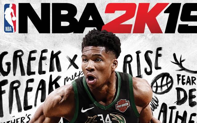 Mit Giannis Antetokounmpo wird erstmals ein europäischer Spieler international auf dem Cover der Basketball-Simulation NBA 2K19 zu sehen sein.