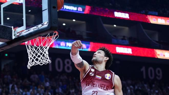 Michael Carrera überzeugte bei der Basketball-WM in China für Venezuela