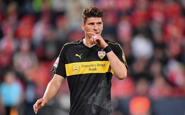 Mario Gomez ist mit dem VfB Stuttgart abgestiegen