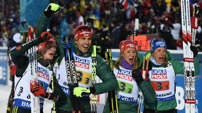 BIATHLON-WORLD-SWE-MIX RELAY
