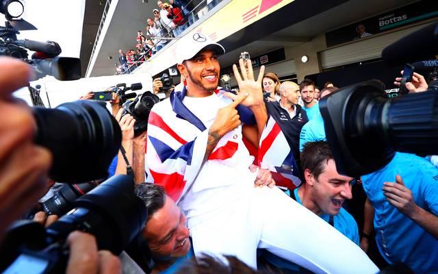 Formel 1: Lewis Hamilton Weltmeister mit Mercedes - sein Weg zum WM-Titel