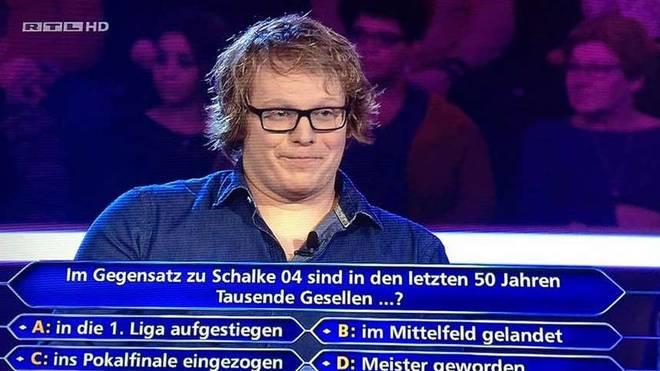 Das war wahrlich keine schwere Aufgabe für BVB-Fan Benedikt Wetzel