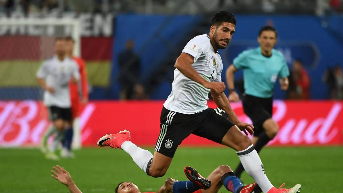 EMRE CAN: Mit seinem massigen Körper war der Liverpooler Abrissbirne und Ballsicherer im defensiven Mittelfeld in einem. Seine 100 Prozent gewonnenen Zweikämpfe in der ersten Hälfte des Gruppenspiels gegen Chile waren ein Statement. Setzte auch offensive Akzente und damit die Arrivierten unter Druck