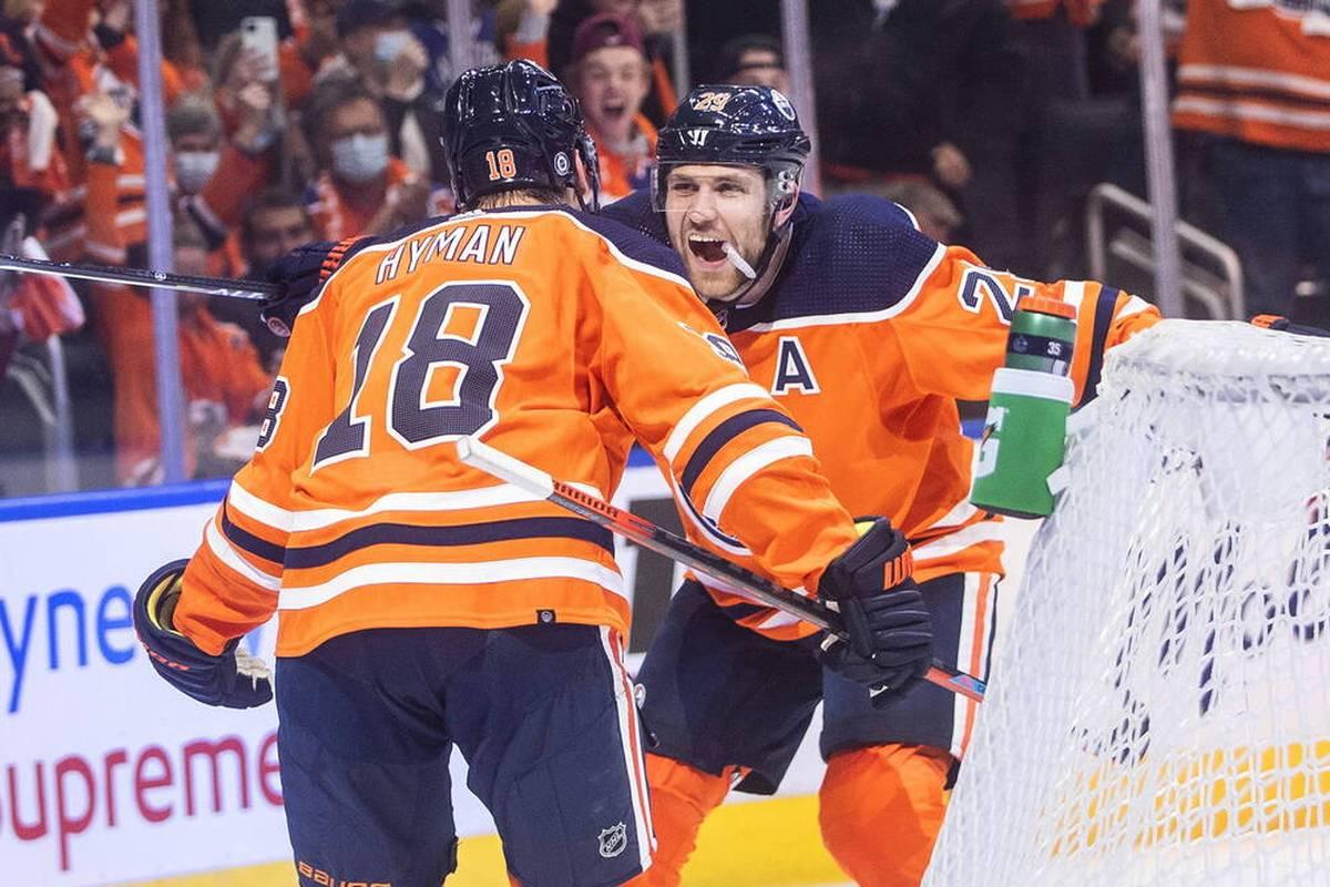 Die Edmonton Oilers feiern in der NHL einen dramatischen Auftaktsieg. Leon Draisaitl glänzt - und wandelt einmal mehr auf Wayne Gretzkys Spuren.