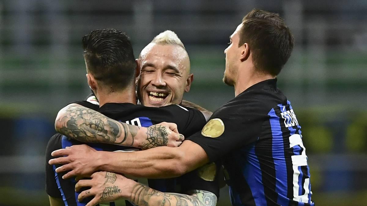 Inter bleibt auf Champions-League-Kurs