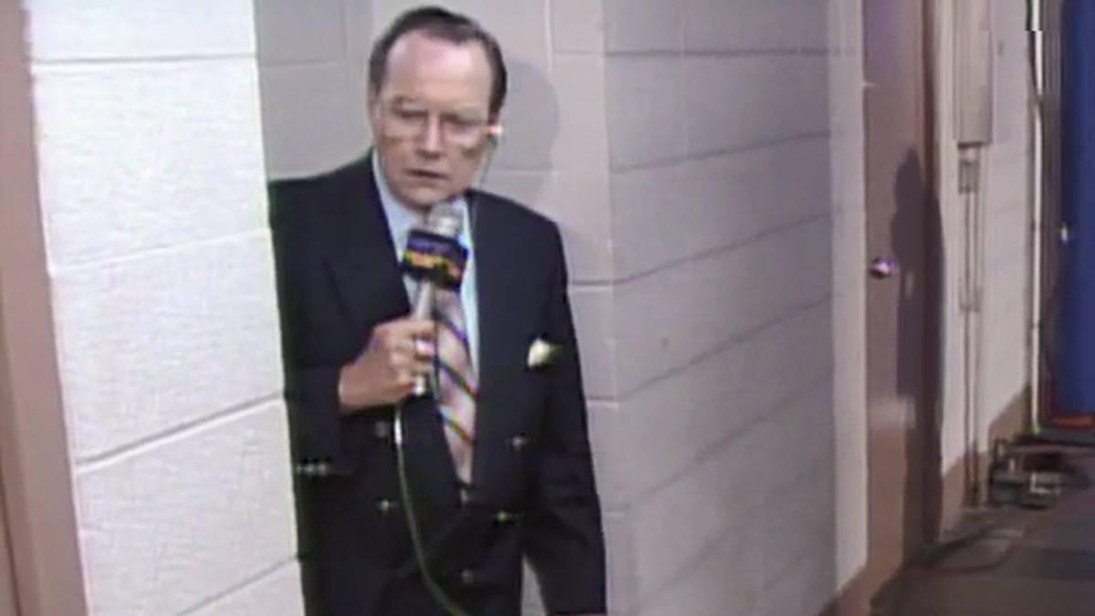 Kommentator Gordon Solie prägte die Ur-Version von World Championship Wrestling