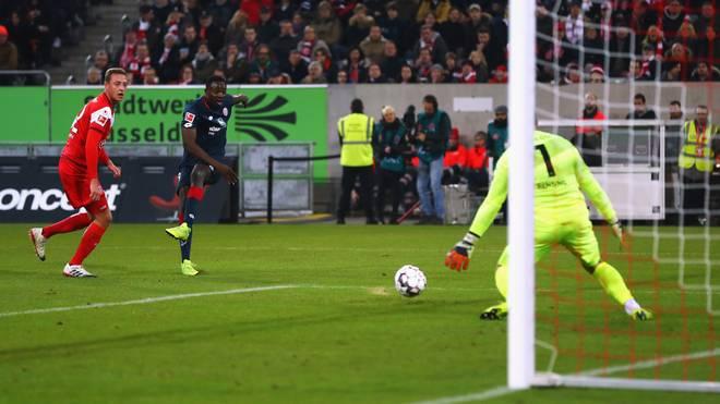 Jean-Philippe Mateta erzielte sein viertes Saisontor für Mainz 05
