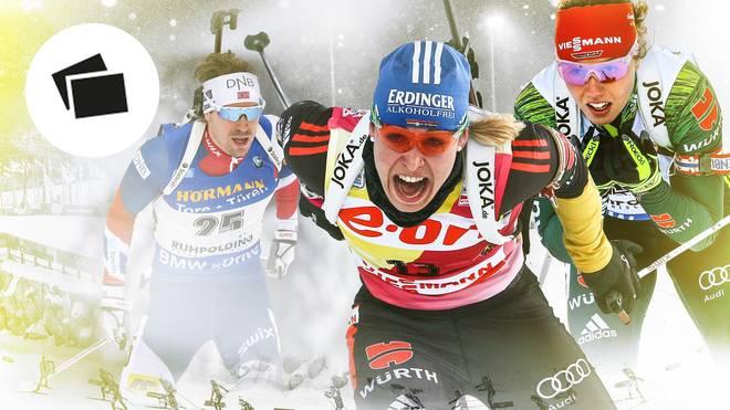 Biathlon WM in Östersund: Neuner, Björndalen die erfolgreichsten Athleten